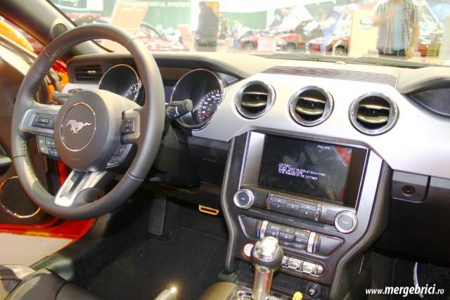 Interior Ford Mustang bord