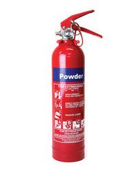 Stingator de incendiu cu pulbere