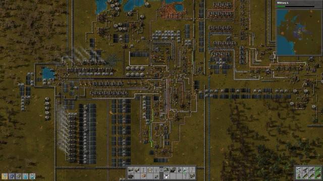 Factorio - instalatie complexa