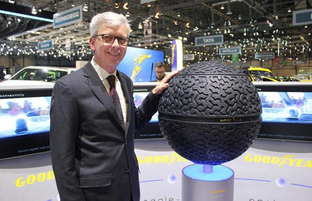 Goodyear Eagle 360 - roata sferica