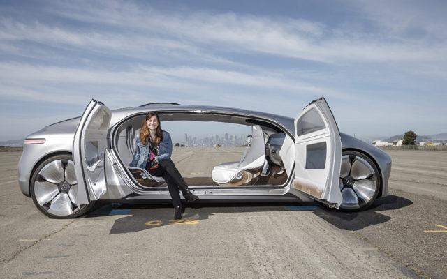 Mercedes F 015 - masina autonoma