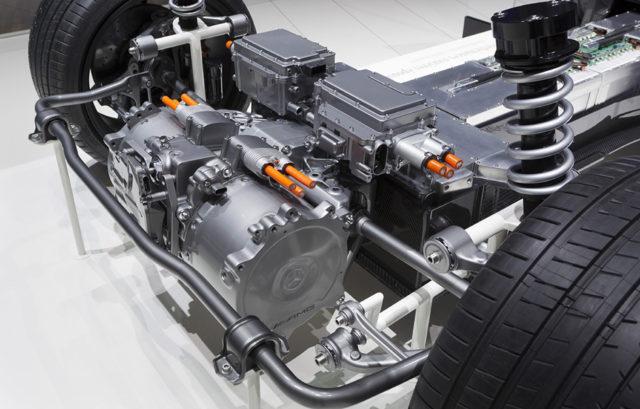 Motor electric Mercedes E-CELL
