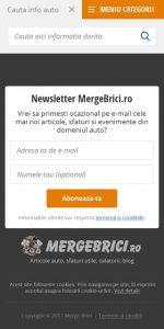 Box newsletter Merge Brici