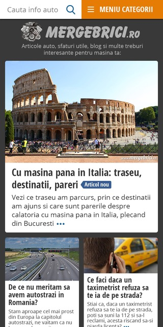 Homepage Merge Brici