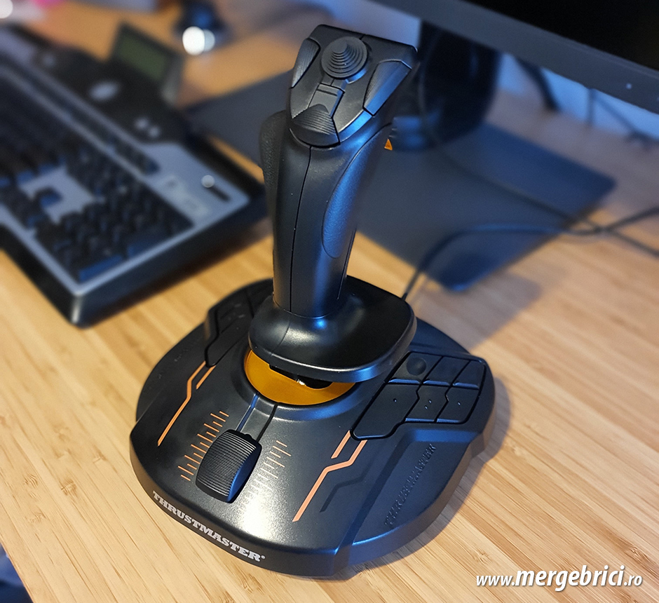T.16000M Review joystick simulatoare zbor